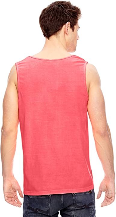 The Red Line Adult Pigment Dye Tank Top
