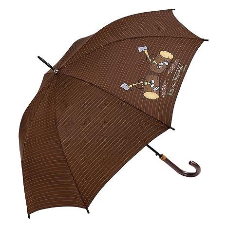 Paraguas Kukuxumusu juvenil Juego de Troncos
