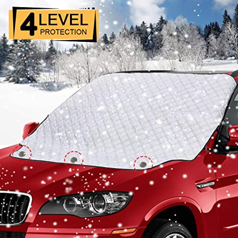 Car Windscreen Frost Cover URMI Snow Cover Windshield Ice Front Window...