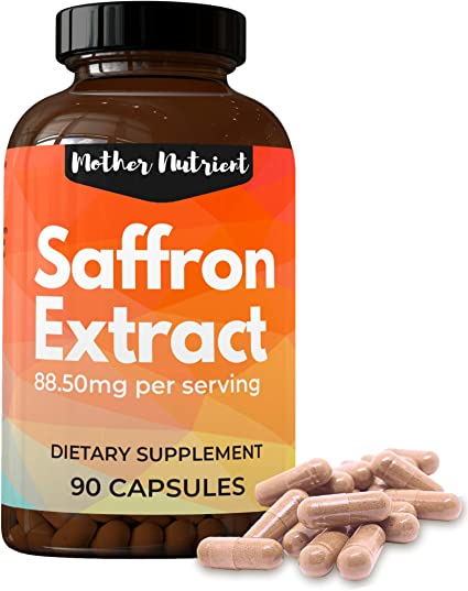 Amazon Com Saffron Supplement With 88 50 Mg Of Saffron Extract