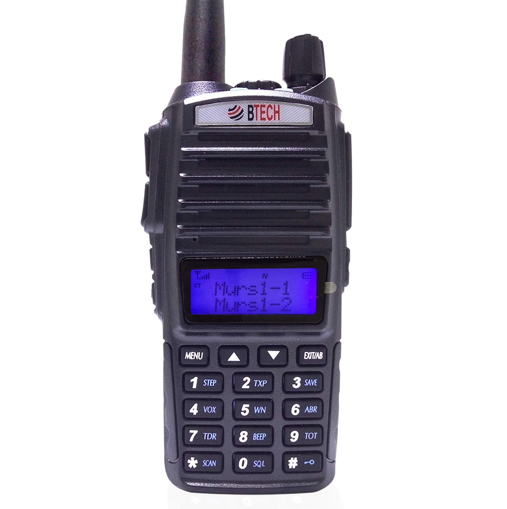 BTECH MURS-V1 MURS Two-Way Radio, License Free Two-Way Radio for Manufacturing, Retail, Personal, and Business by BTECH