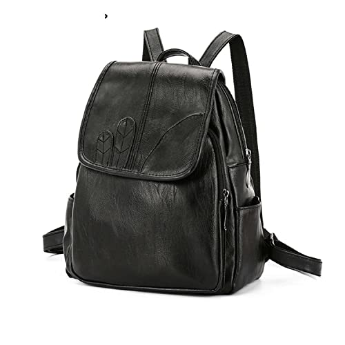 bdc4ca6a3875 Amazon.com: Rising ON Women Backpack College School Bag PU Leather ...