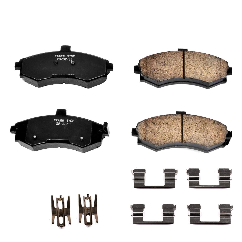 Power Stop 17-1445 Z17 Evolution Plus Brake Pad