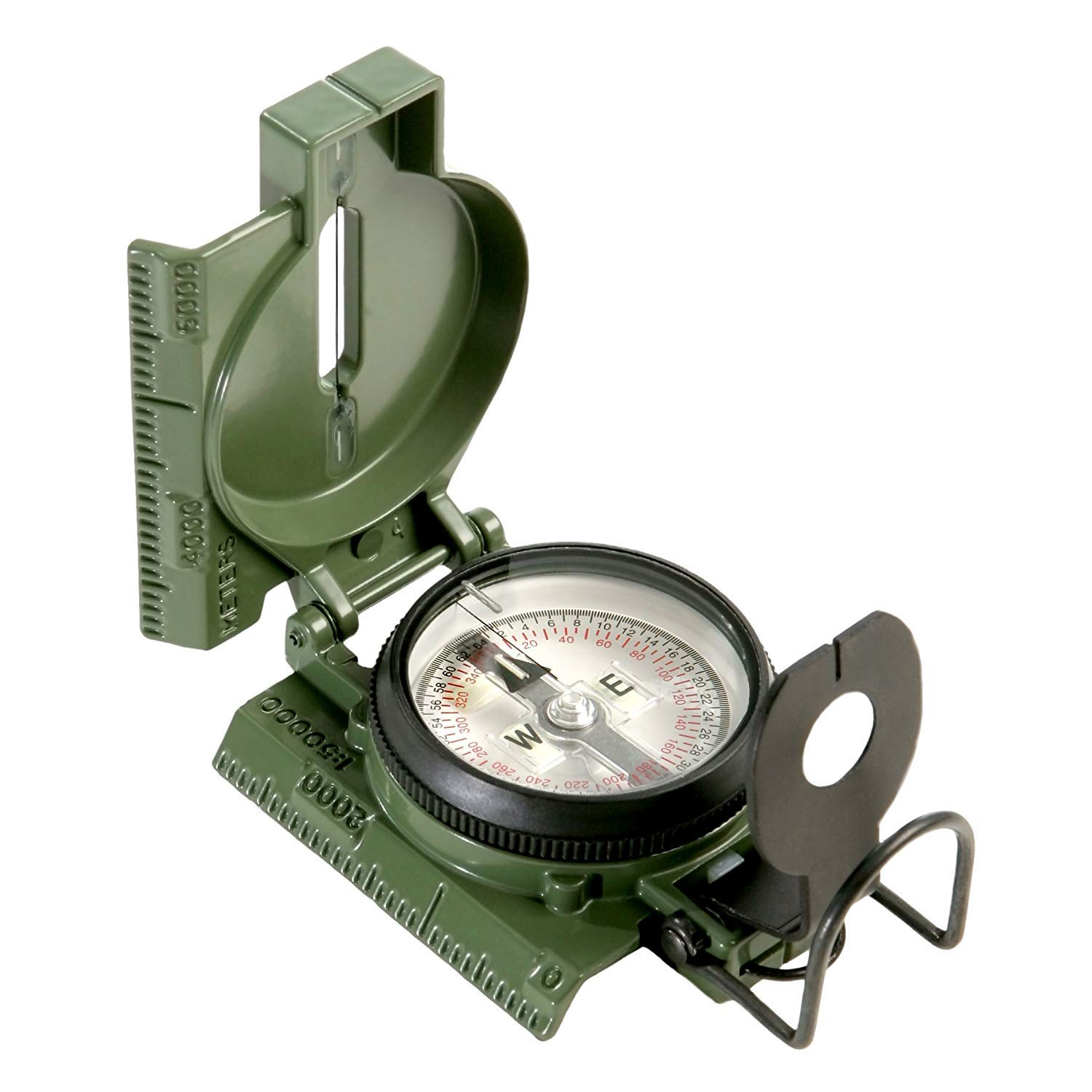 Cammenga Official US Miltary Tritium Lensatic Compass, Clam Pack (2-Units)