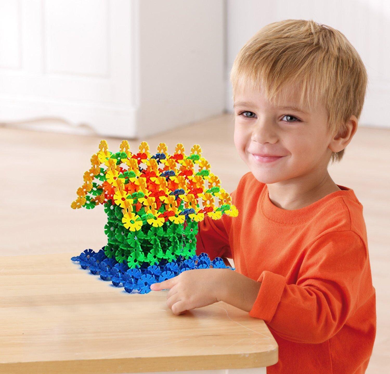 Amazon Goldflower 300 Pcs Discs Building Set Engineering Toy