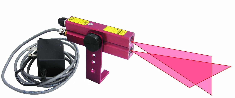 Johnson Level 40 6230 110V AC Red Beam Crossline Laser Red