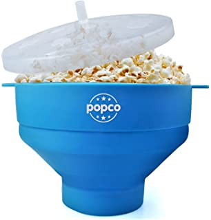 popco silicone microwave popcorn popper with handles - Popcorn Makers