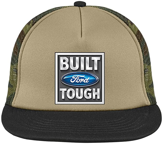BUILT FORD TOUGH Trucker Hat with Mesh Back 4333695e745