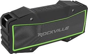 Rockville Rock Everywhere Portable Bluetooth Speaker/Waterproof/Wireless Link