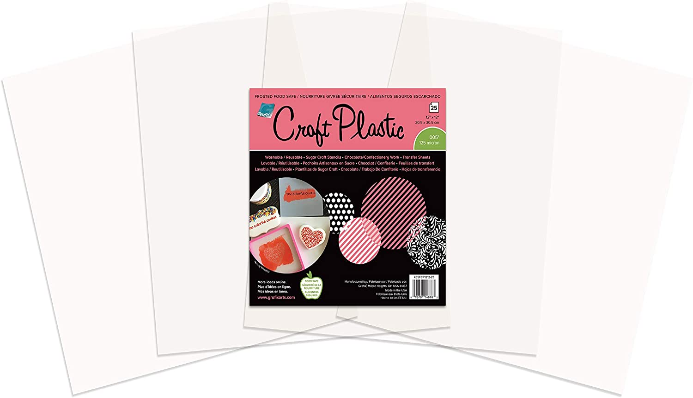 Grafix Foodsafe Craft Plastic Sheets 12