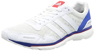 Adidas Adizero Adios Boost 3 Aktiv M White White Blue 38 JsNEmew