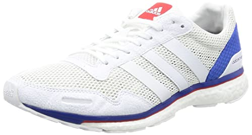 fe2f361bc7f adidas Adizero Adios 3 Aktiv Running Shoes - SS17 White  Amazon.co ...