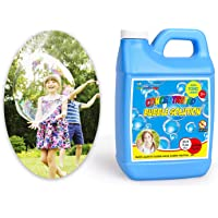 FUN LITTLE TOYS 33.8 Oz. Bubble Solutions Refill, Jumbo Supply Non Toxic High Concentrate, for Bubble Machine, Wands…