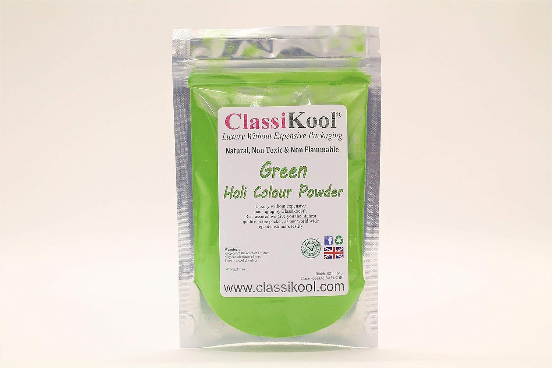 Classikool Holi Festival Throwing Powder 7 Colour Set: All 100g, 100g Marathons /& Parties 7 Colours for 5K Runs