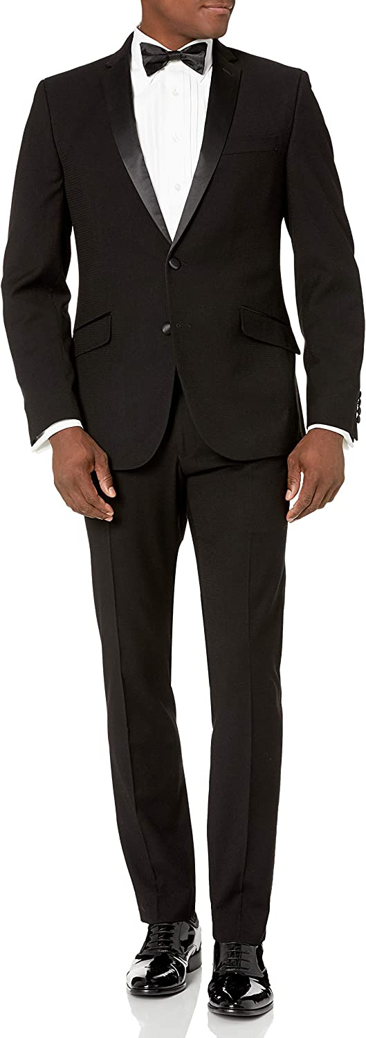 Billy London Mens Stretch 32 Finished Bottom Suit Business Suit Pants Set