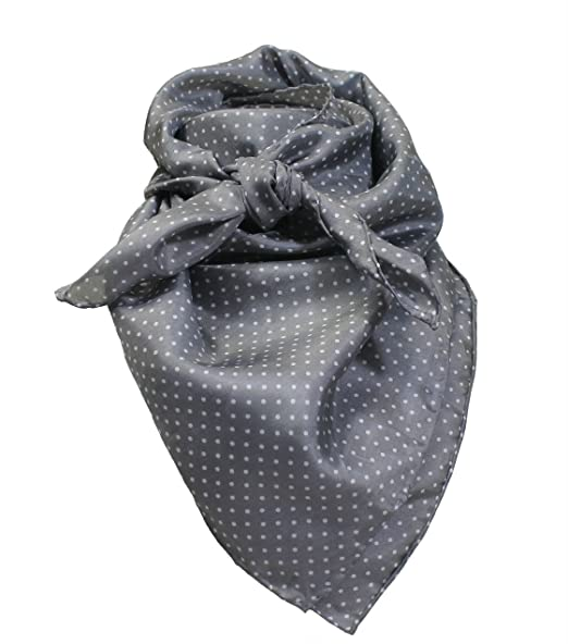 bed997a732b2a9 Image Unavailable. Image not available for. Color: Gray Dot Wild Rag