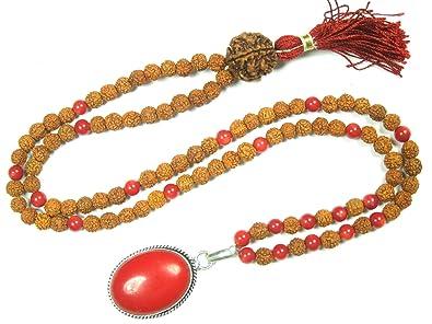 Mogul Coral para cuentas de rosario de Mala Interior ...
