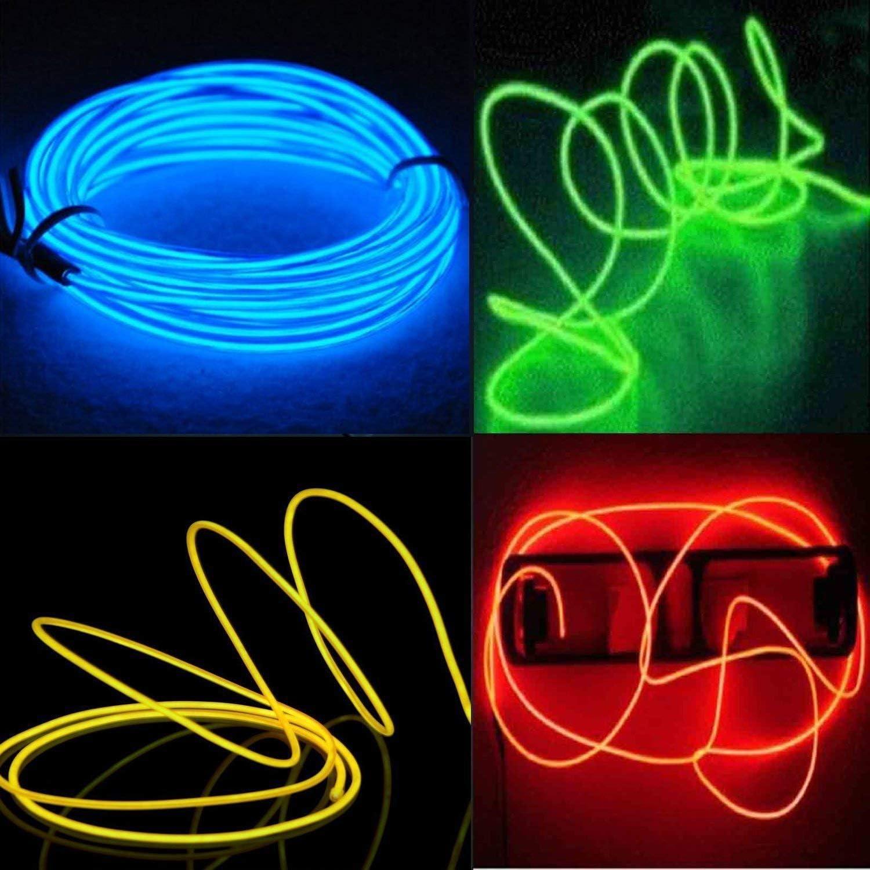 / 6,99//€//m /1/m /5/m /nessun LED 3,59//€//m / El ambiente illuminazione abitacolo illuminazione blu ghiaccio Barra luminosa/