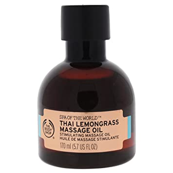 The Body Shop Spa of the World Thai Lemongrass Massage Oil, 170ml