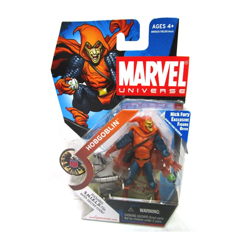 Marvel Universe 3 3//4 Series 4 Action Figure Hobgoblin