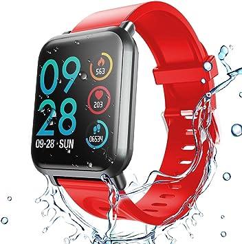 HopoFit HF02 Fitness Tracker HR,Smartwatch con contador de ...