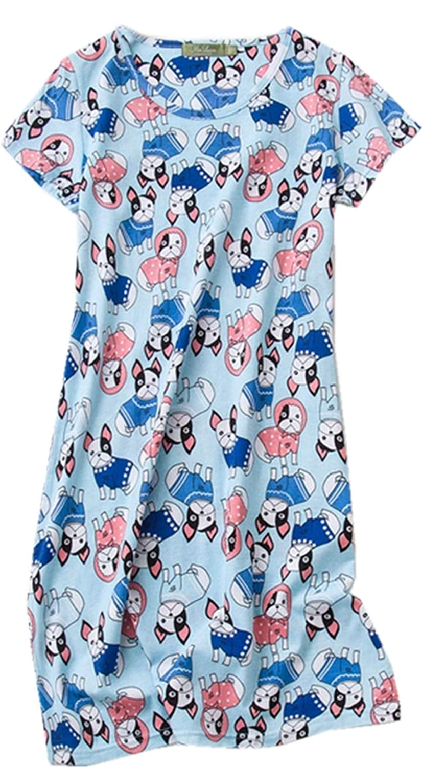 ✿Nightshirt Design  This cotton nightshirt for women accommodates almost  body shapes. the nightshirt is designed to midway between the knees 9bf923f1f