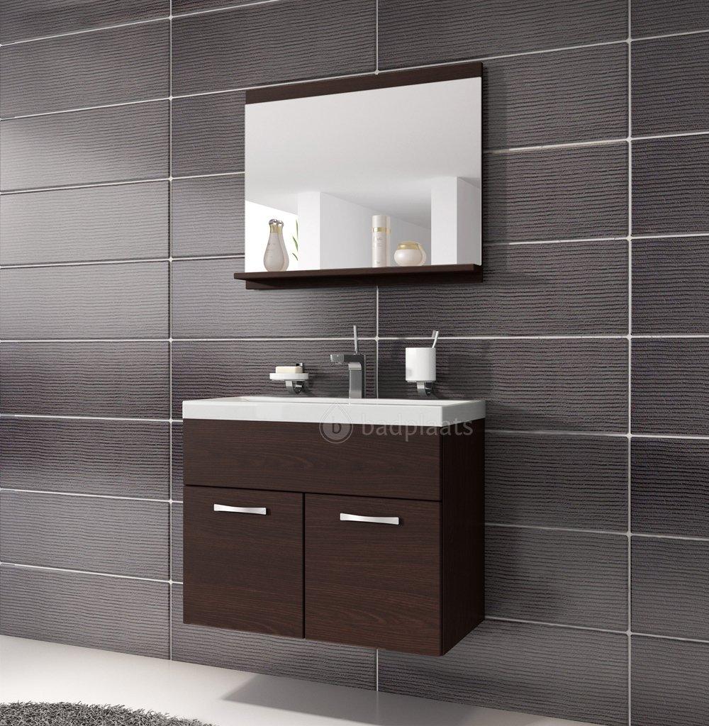 Schön Badezimmer Badmöbel Montreal 02 60cm Waschbecken Wenge   Unterschrank  Waschtisch Spiegel Möbel: Amazon.de: Küche U0026 Haushalt