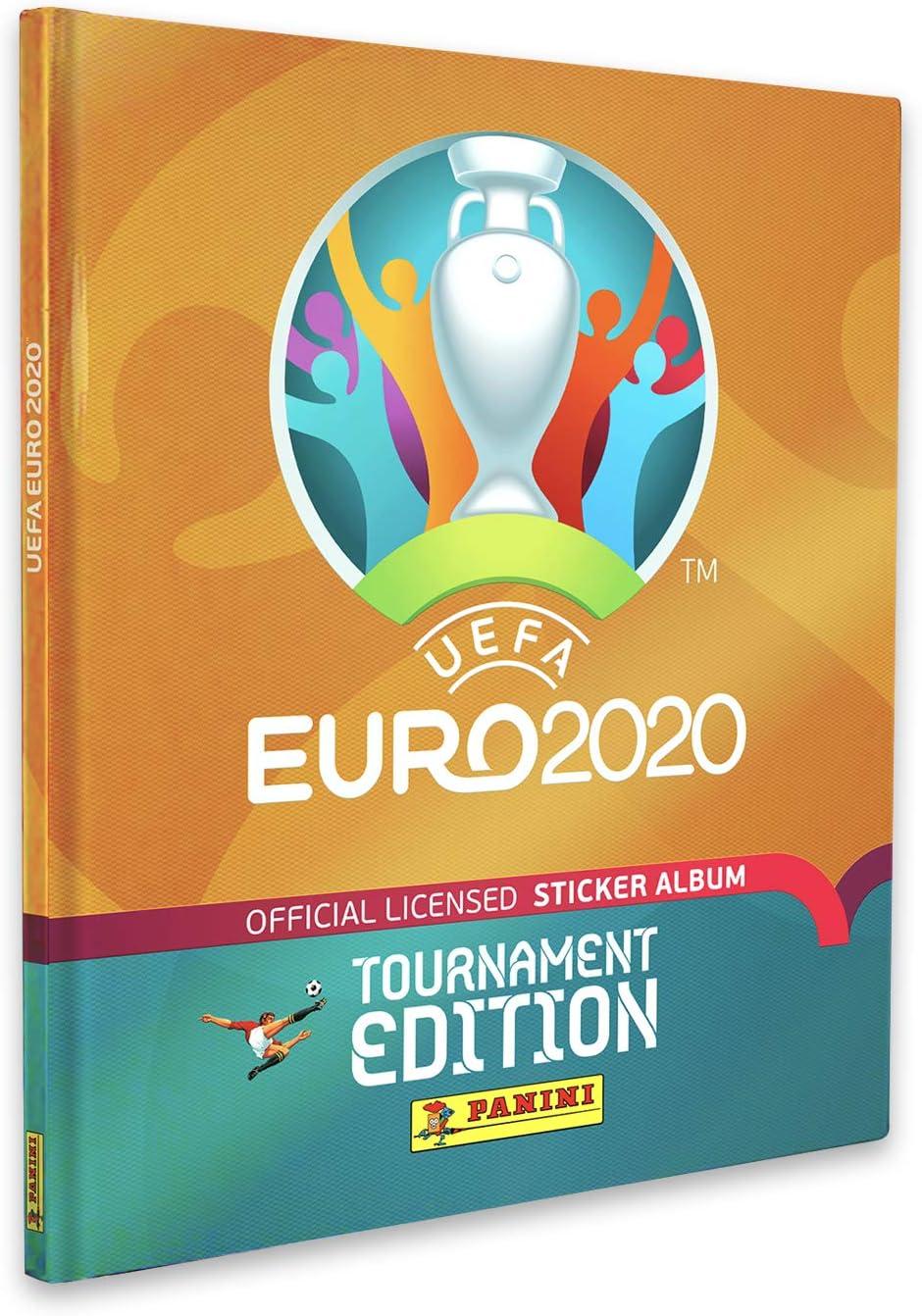 Panini UEFA Euro 2020 Stickersammlung Hardcover Album
