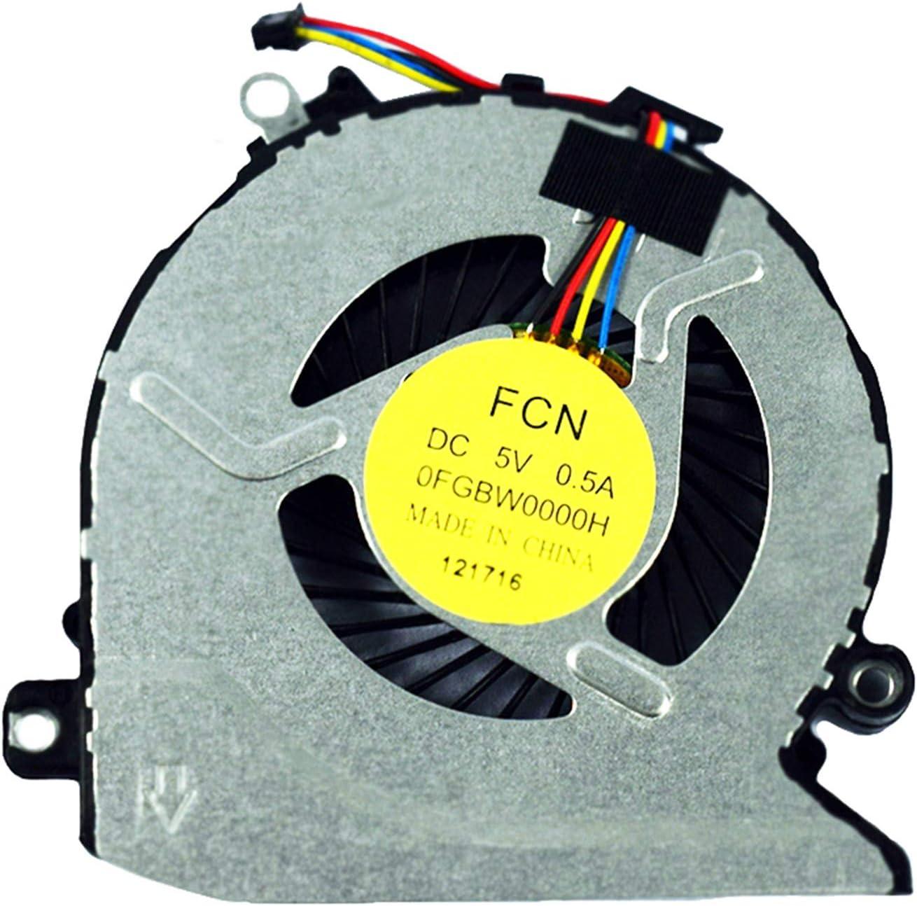 Power4Laptops Replacement Laptop Fan for HP Envy 17-n102no HP Envy 17-n102ur HP Envy 17-n102TX HP Envy 17-n103nc HP Envy 17-n103la