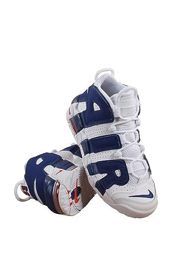 Amazoncom 415082 103 Grade School Air More Uptempo Nike White