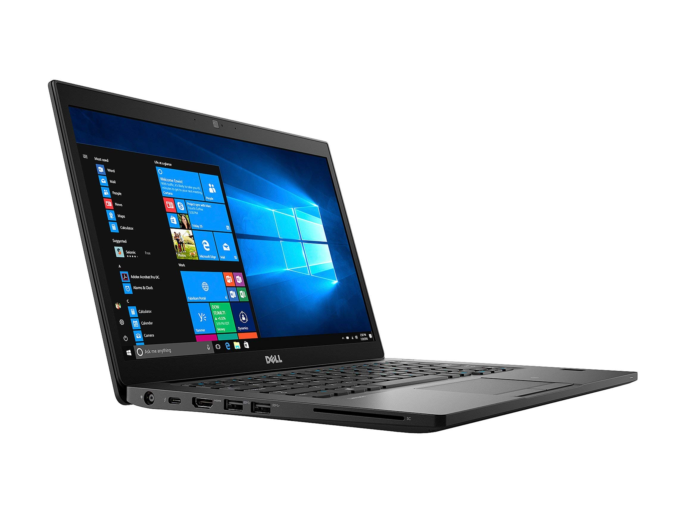 "Dell Latitude 7490 Business Laptop, 14"" HD (1366x768) Intel Core i7-8650U 16GB RAM 256GB SSD Windows 10 Pro (Certified Refurbished)"