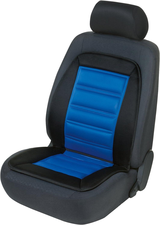 Walser 16591 Beheizbare Sitzauflage Auto Sitzaufleger Inkl Sitzheizung Pkw Sitzkissen Mit Heizung Warm Up Mit Thermostat In Schwarz Blau Auto