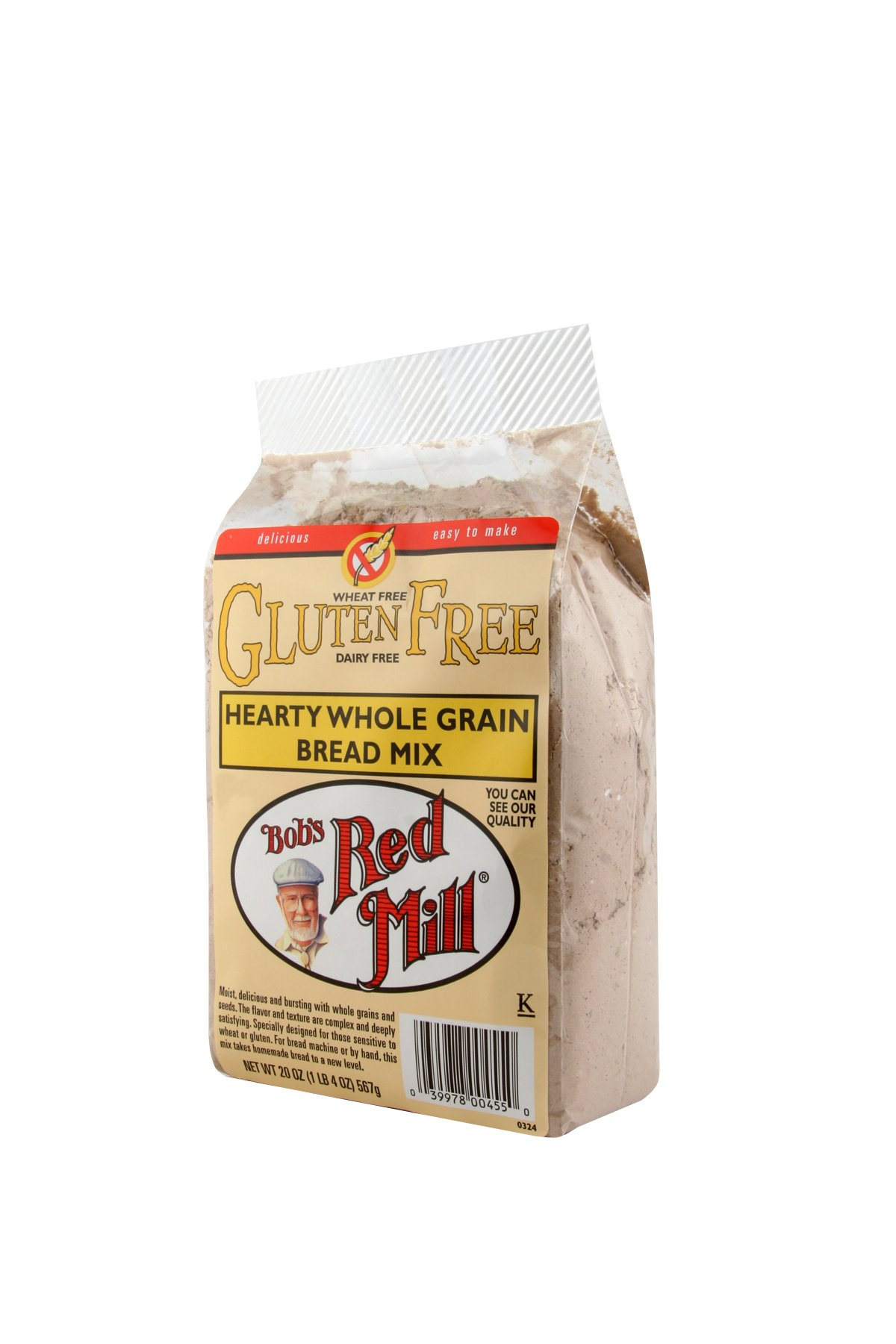 Bob's Red Mill Gluten Free Hearty Whole Grain Bread Mix, 20-ounce (Pack of 4) by Bob's Red Mill (Image #5)