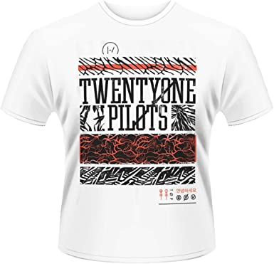 Plastic Head Twenty-One Pilots Athletic Stack Camiseta para Hombre: Amazon.es: Ropa y accesorios