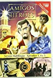 Amigos y Heroes Episodios 3, 4 y 5 [DVD]