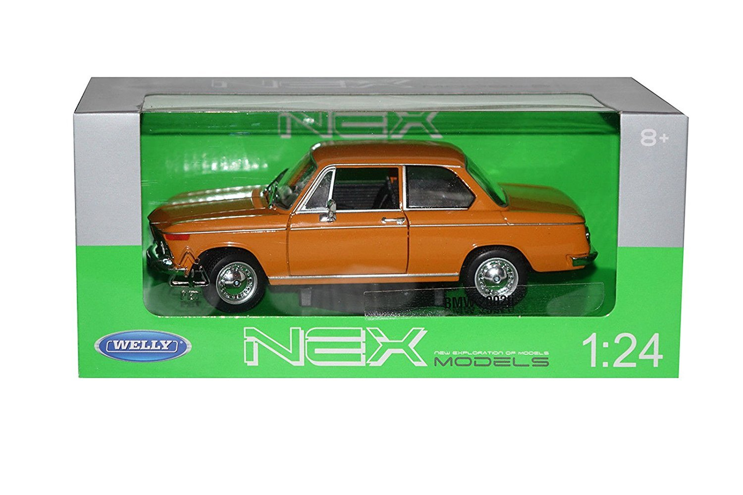 Welly 1968 BMW 2002ti 1/24 Scale Diecast Model Car Orange: Amazon.es: Juguetes y juegos