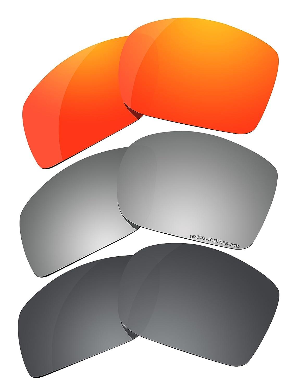 3ペア偏光レンズ交換用c28 B019FB6UTO Oakley Oakley Big Tacoサングラス B019FB6UTO, s.s shop:b712d19d --- bulkcollection.top