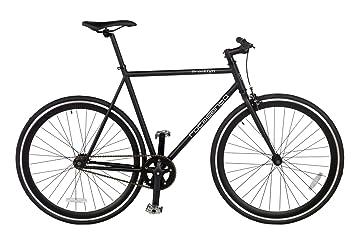 Rocasanto Bike - Bicicleta fixie v, tamaño 57, color negro/negro ...