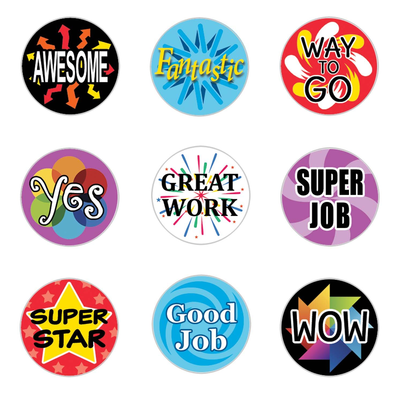 teacher stickers  : Teacher Reward Motivational Stickers for Children (Set ...