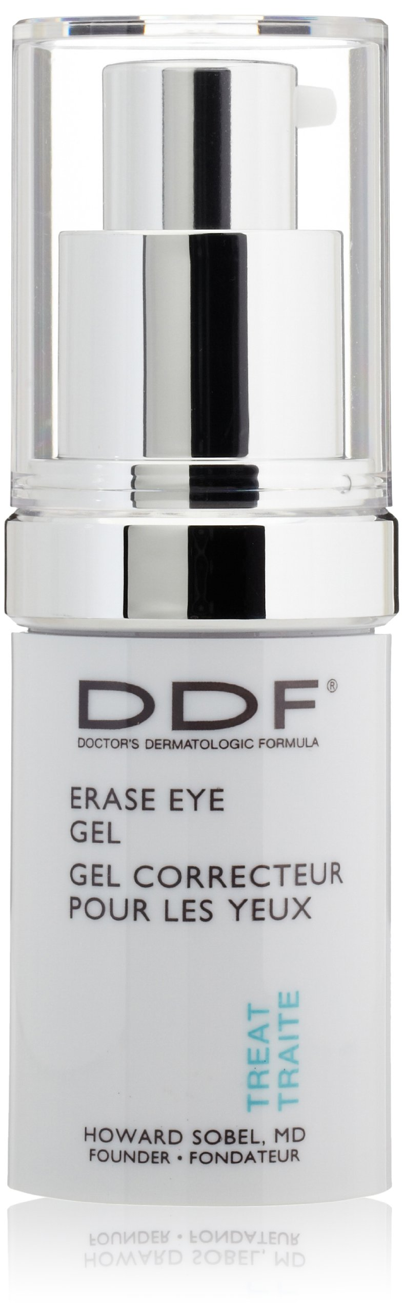 DDF Erase Eye Gel, 0.5 Oz