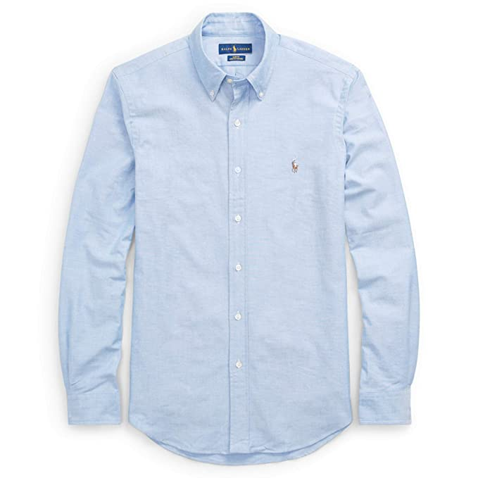 huge discount 60990 11108 Polo Ralph Lauren Camicia Button Down Tessuto oxfod Slim Fit