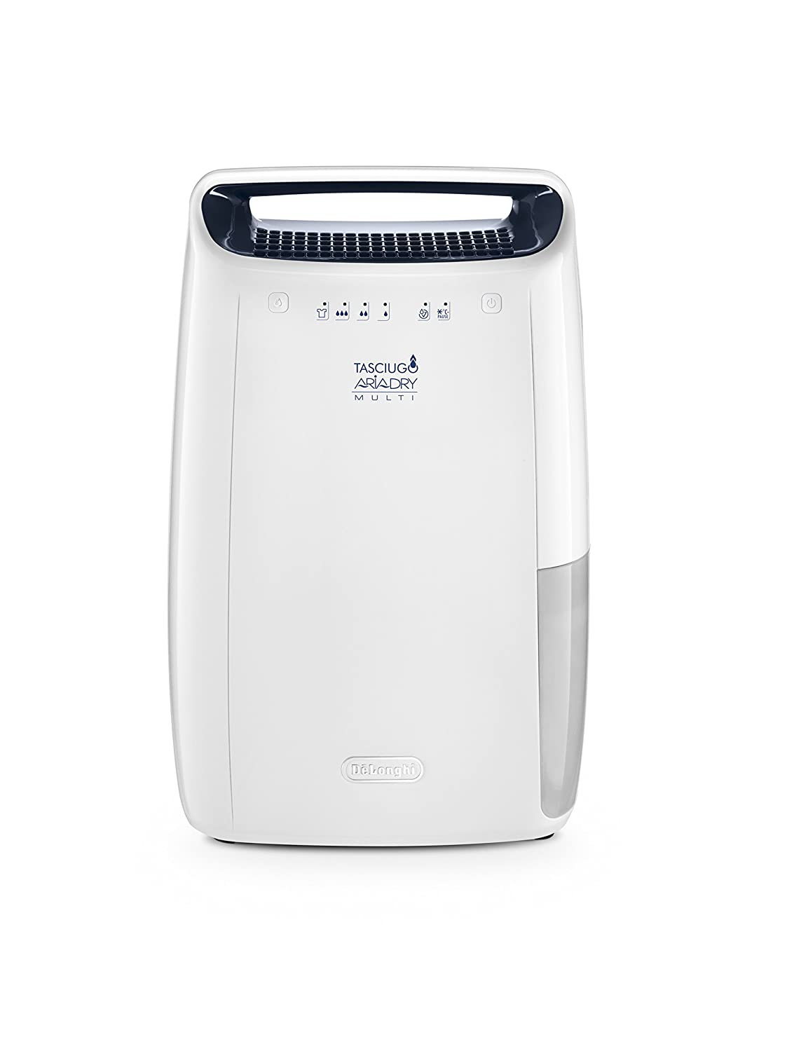 Amazon.com - Delonghi DEX16F Compact 15 pint Dehumidifier with Air  Filtration & Aafa Certification Dehumidifier, White -