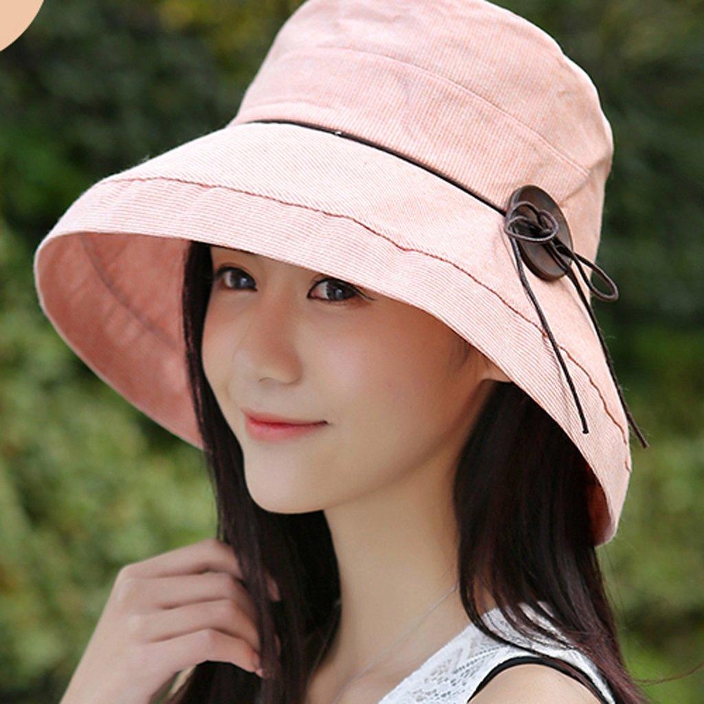 Hay dos tipos de sombrero hermoso sol del verano femenino del sombrero del sol plegables marea femen...