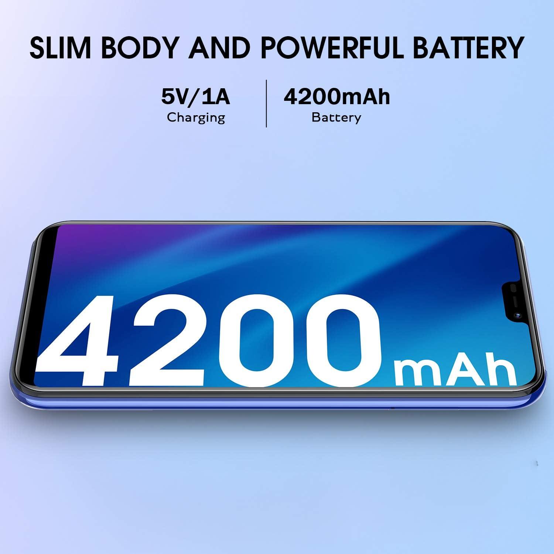 P20 Smartphone Libre 4G, 5.84 Pulgadas HD 4GB RAM + 64GB ROM ...