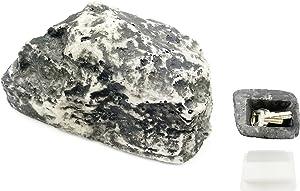 Becho Hide Key Rock Secret Key Holder House Key Hider for Garden or Yard Outdoors Looks & Feels Like Real Stone