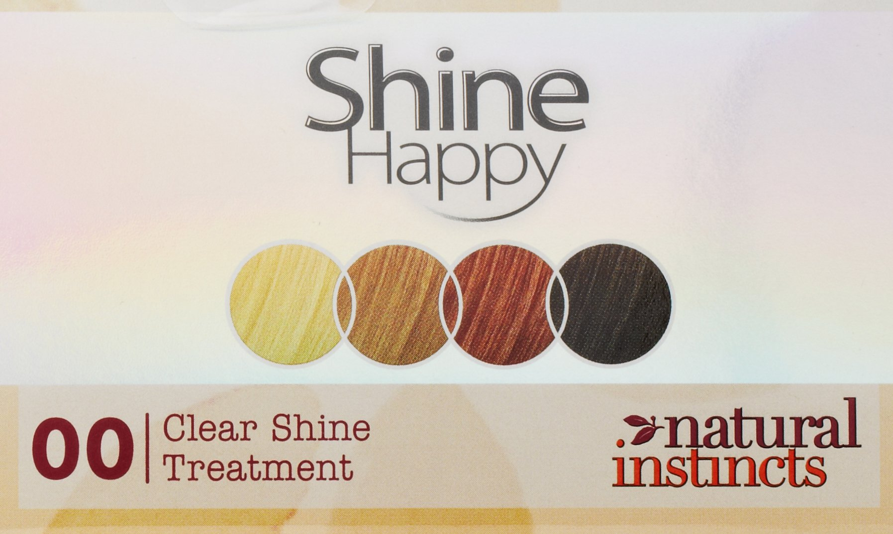 Clairol Natural Instincts Hair Color Shine Happy 00 Kit, Clear Shine, 3 Pack, Hair Shine Treatment With Weekly Conditioning Treatments by Clairol