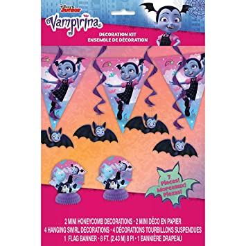 Unique Industries Disney Vampirina 7 Piece Decorating Kit