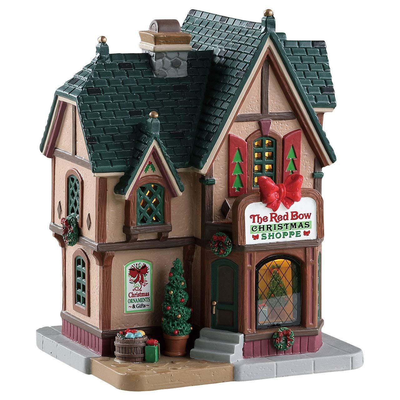 Lemax Village Collection Le Nœ ud Rouge de Noë l Shoppe # 85379