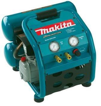 Makita 4.2 Gal. 2.5 HP Portable Electrical 2-Stack Air Compressor-MAC2​400 - The Home Depot