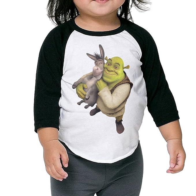 79b64049f MDSHOP Shrek Donkey 2-6 Kids Baby/Toddler Cotton T-Shirts: Amazon.ca ...